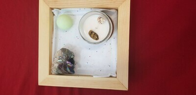 Stone and Candle Gift box