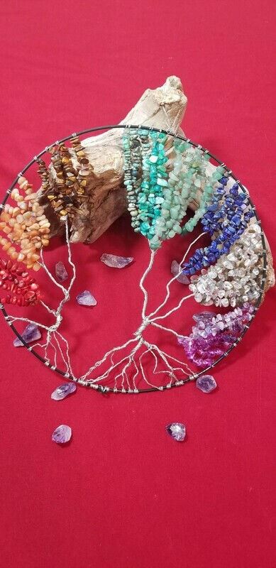 Chakra Tree of life Wall Hanging