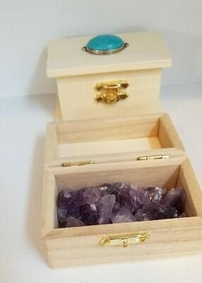 Amethyst Treasure Chest