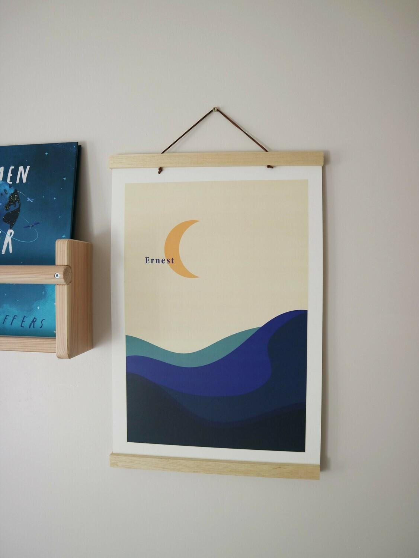 Poster maan