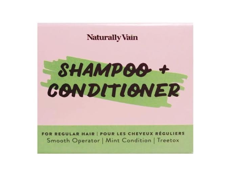 Shampoo and Conditioner Bar Set for Normal Hair