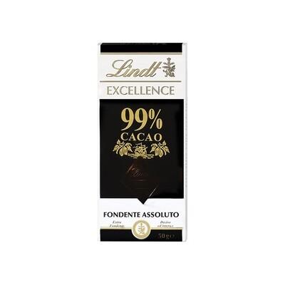 Tavoletta di cioccolato Fondente Assoluto 99% Excellence di Lindt