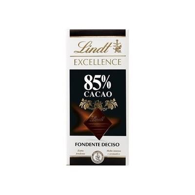 Tavoletta di cioccolato  Fondente Deciso 85% Excellence di Lindt