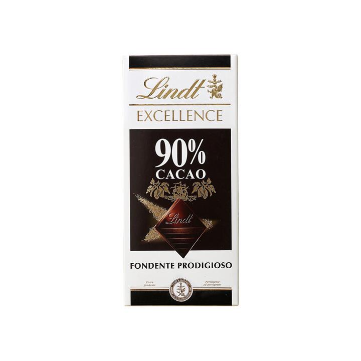 Tavoletta di cioccolato Fondente Prodigioso 90% Excellence di Lindt