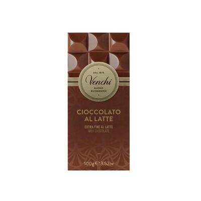 Tavoletta di cioccolato al latte extra fine di Venchi