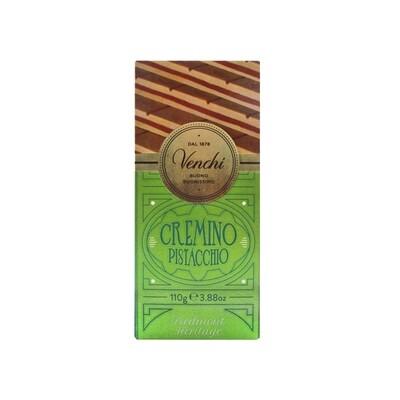 Tavoletta di cioccolato cremino pistacchio Piedmont Heritage di Venchi