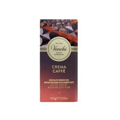 Tavoletta di cioccolato crema caffè di Venchi