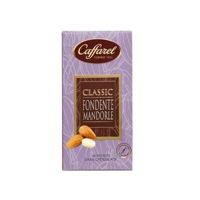 Tavoletta di cioccolato fondente mandorle Classic di Caffarel