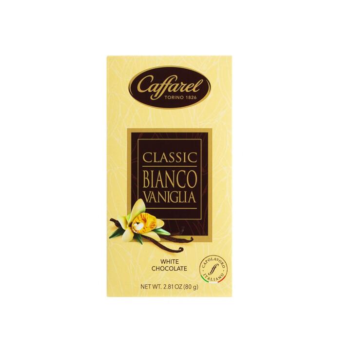 Tavoletta di cioccolato bianco vaniglia Classic di Caffarel