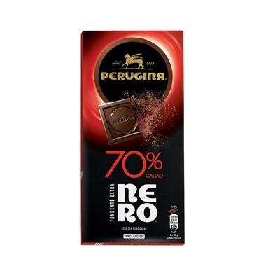Tavoletta di cioccolato fondente extra Nero 70% di Perugina