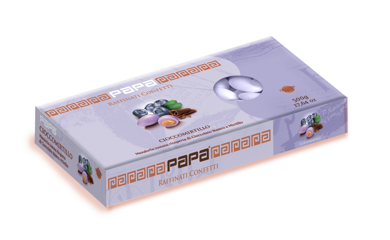 Confetti Cioccomirtillo di Confettificio Papa