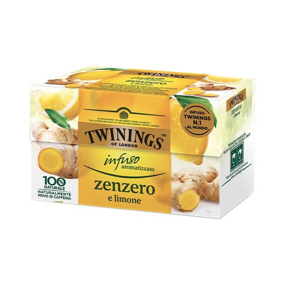 Infuso zenzero e limone di Twinings