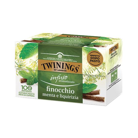 Infuso finocchio menta e liquirizia di Twinings