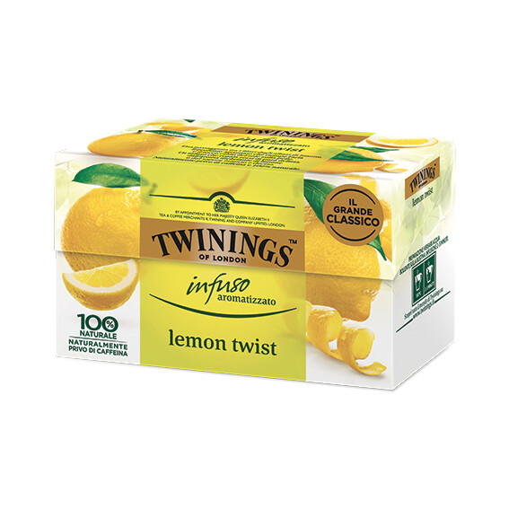 Infuso lemon twist di Twinings