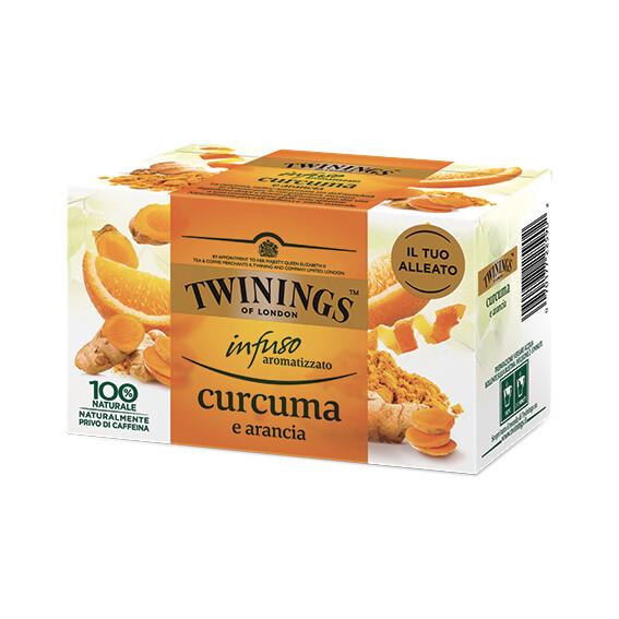 Infuso curcuma e arancia di Twinings