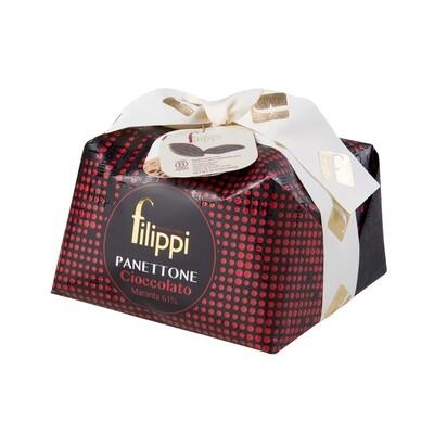 Panettone al cioccolato Maranta 61 % Pasticceria Filippi