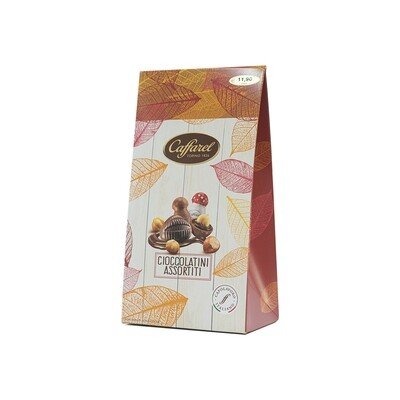 Cioccolatini assortiti con fantasie del bosco di Caffarel