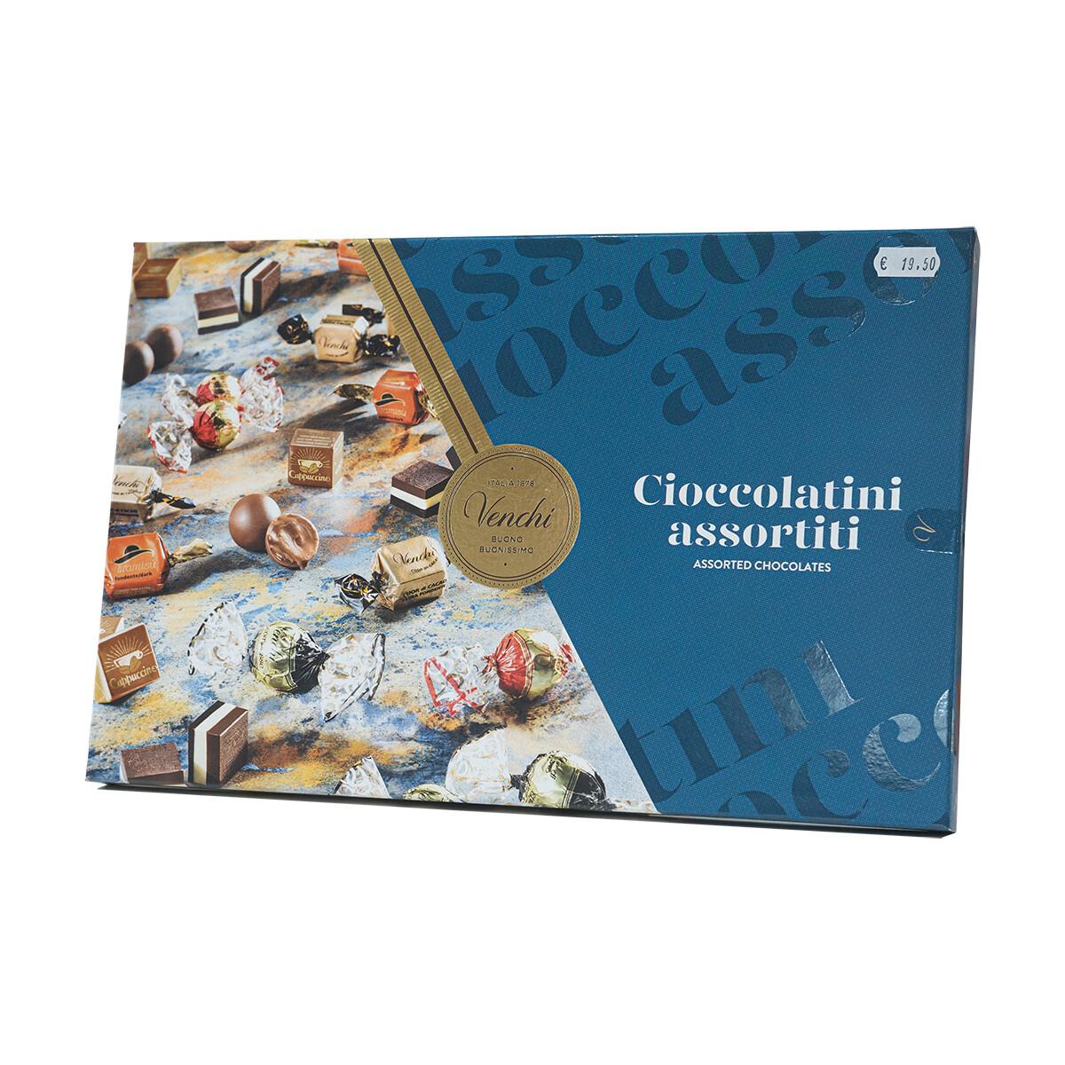 Cioccolatini assortiti in confezione regalo di Venchi