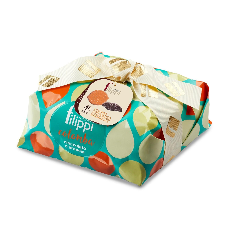 Colomba speciale con Arancia e Cioccolato di Pasticceria Filippi