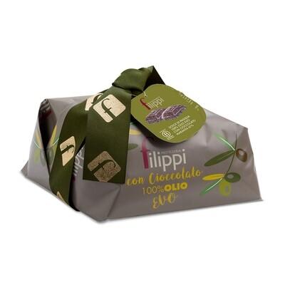 Dolce di Pasqua 100 % Olio Evo con Cioccolato di Pasticceria Filippi