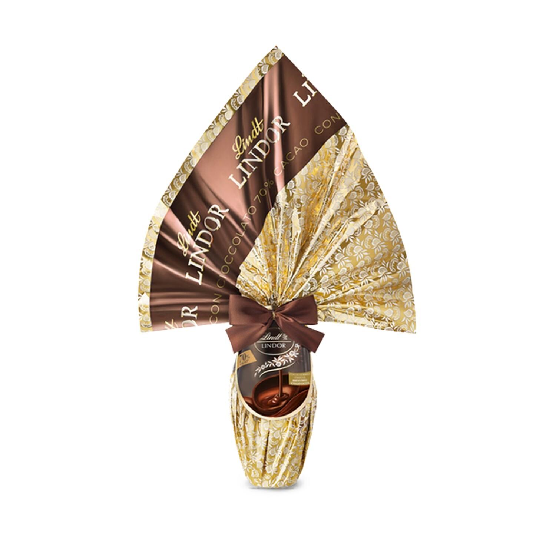 Uovo Lindor 70 % cacao di Lindt