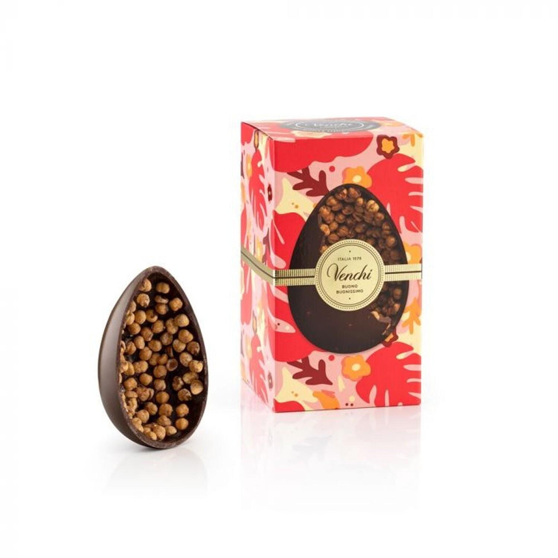 Uovo di cioccolato fondente Gran Nocciolato Piemonte di Venchi dal 1878