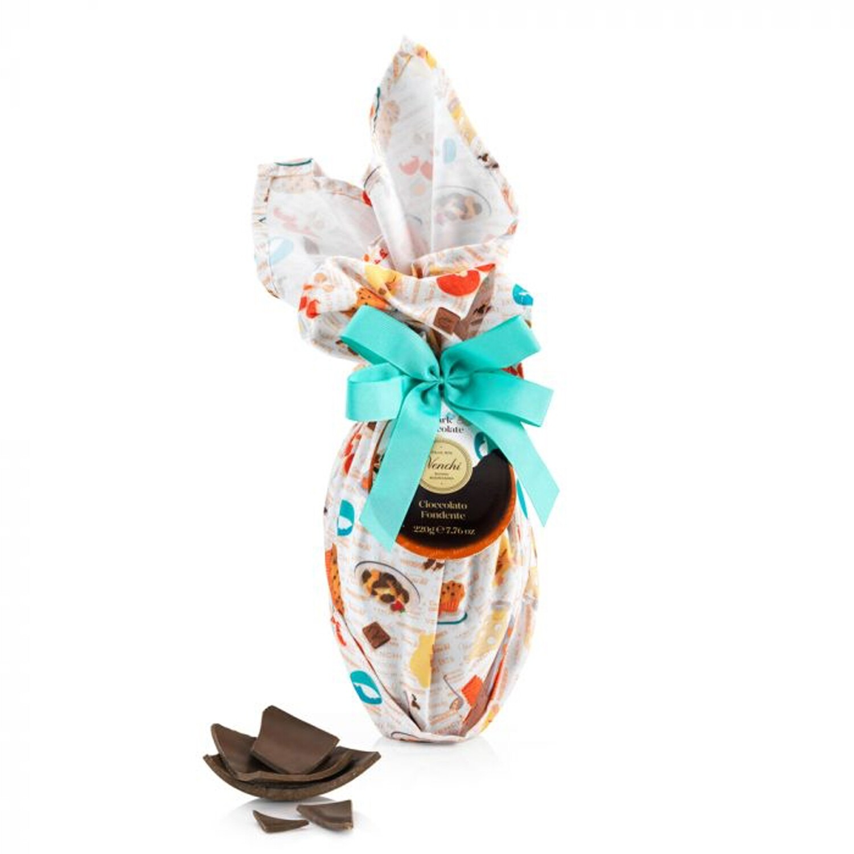 Uovo di cioccolato fondente 56 % Collezione Cucina di Venchi dal 1878