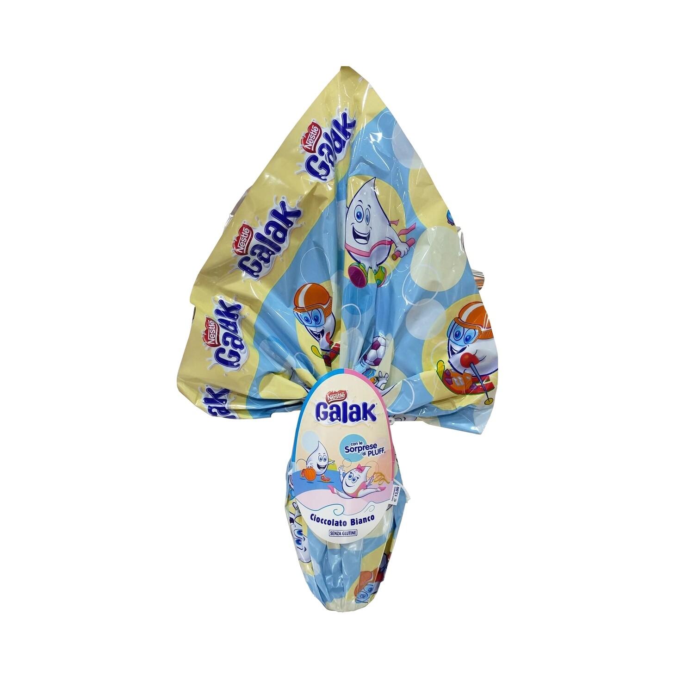 Uovo di cioccolato bianco Maschio di Galak