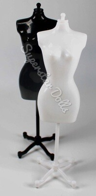 22cm Doll Sized Mannequin/Stand for Barbie Doll Fashions