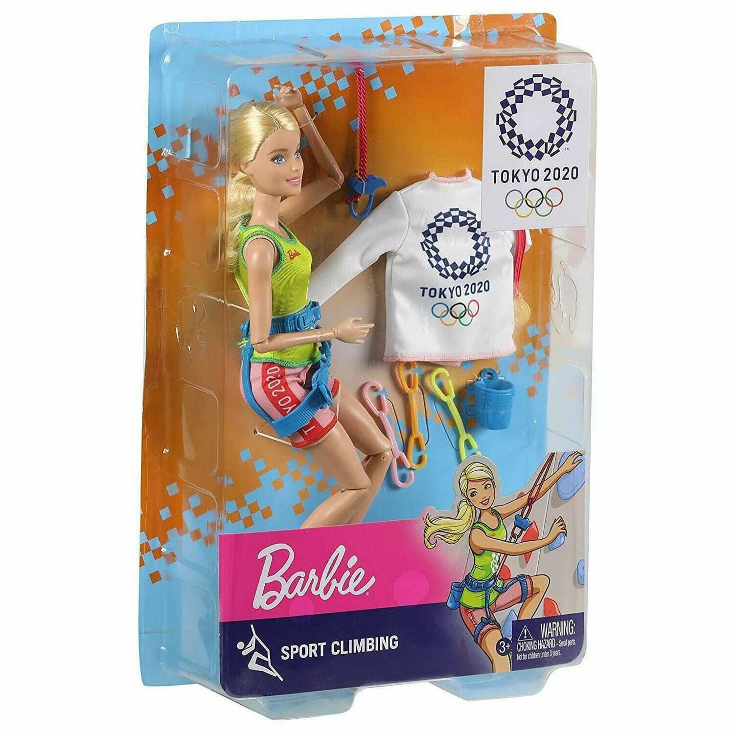 2020 Limited Edition Official Tokyo Olympic Games Sport Climbing Barbie Doll