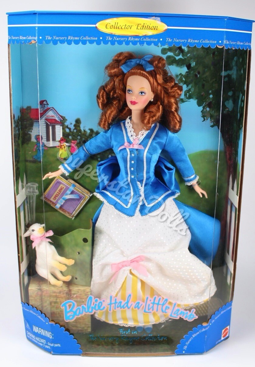 1998 Barbie Had a Little Lamb Collector Doll