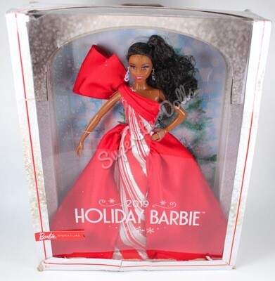 2019 African American Holiday Barbie Doll