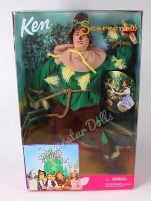 1999 Ken as Scarecrow from the Wizard or Oz Collector Doll