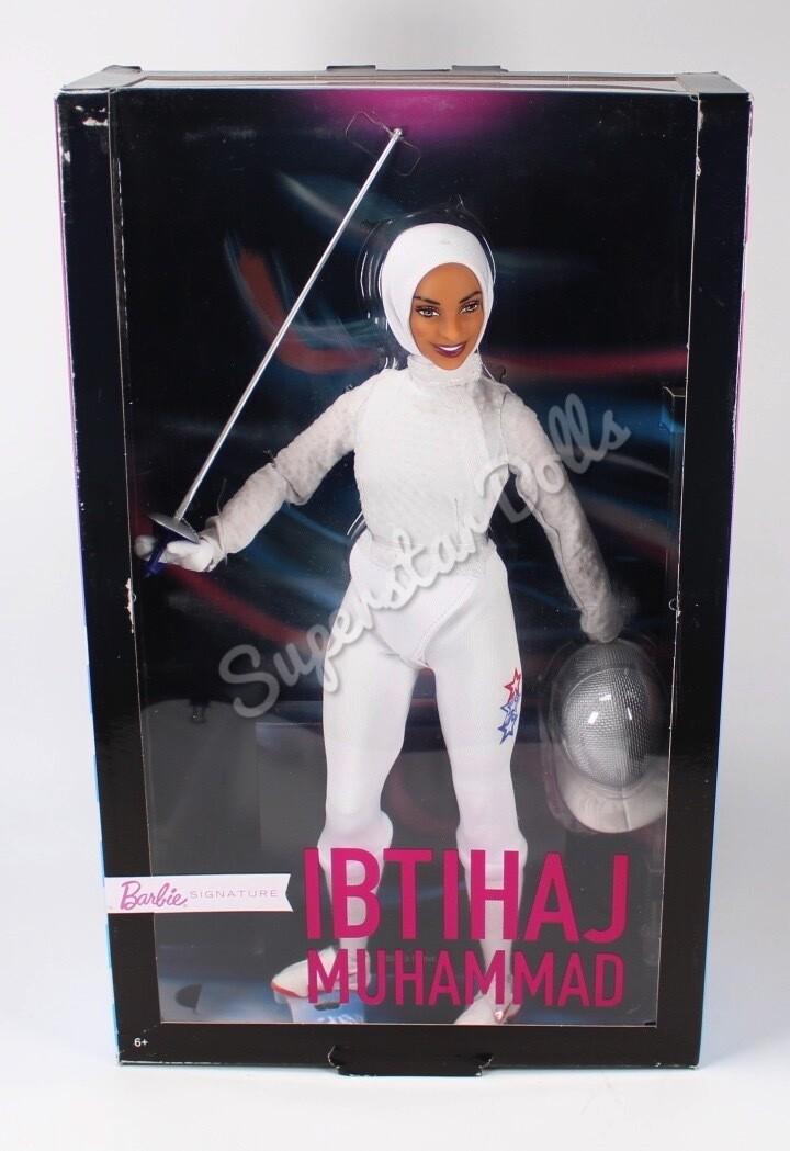 2018 Ibtihaj Muhammad Barbie Doll