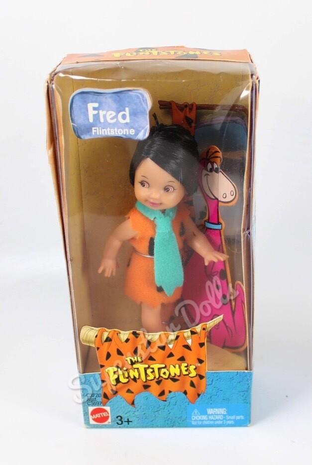 2003 Tommy as Fred Flintstone from the Flintstones Barbie Doll