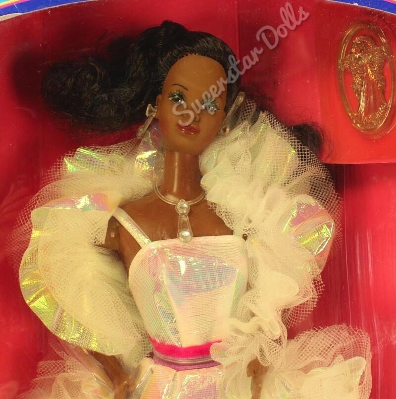 1983 African American (AA) Crystal Barbie Doll NRFB