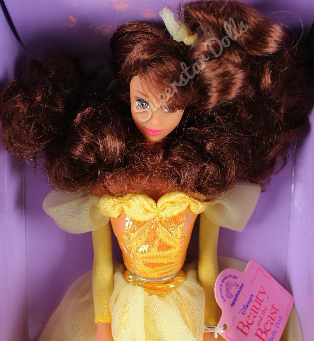 90's Era Disney Beauty & The Beast Belle Fashion Doll By Applause