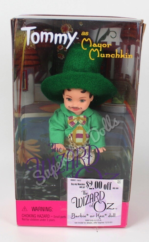 1999 Tommy as Mayor Munchkin from the Wizard or Oz Collector Barbie Doll