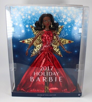 2017 African American (AA) Holiday Barbie Doll