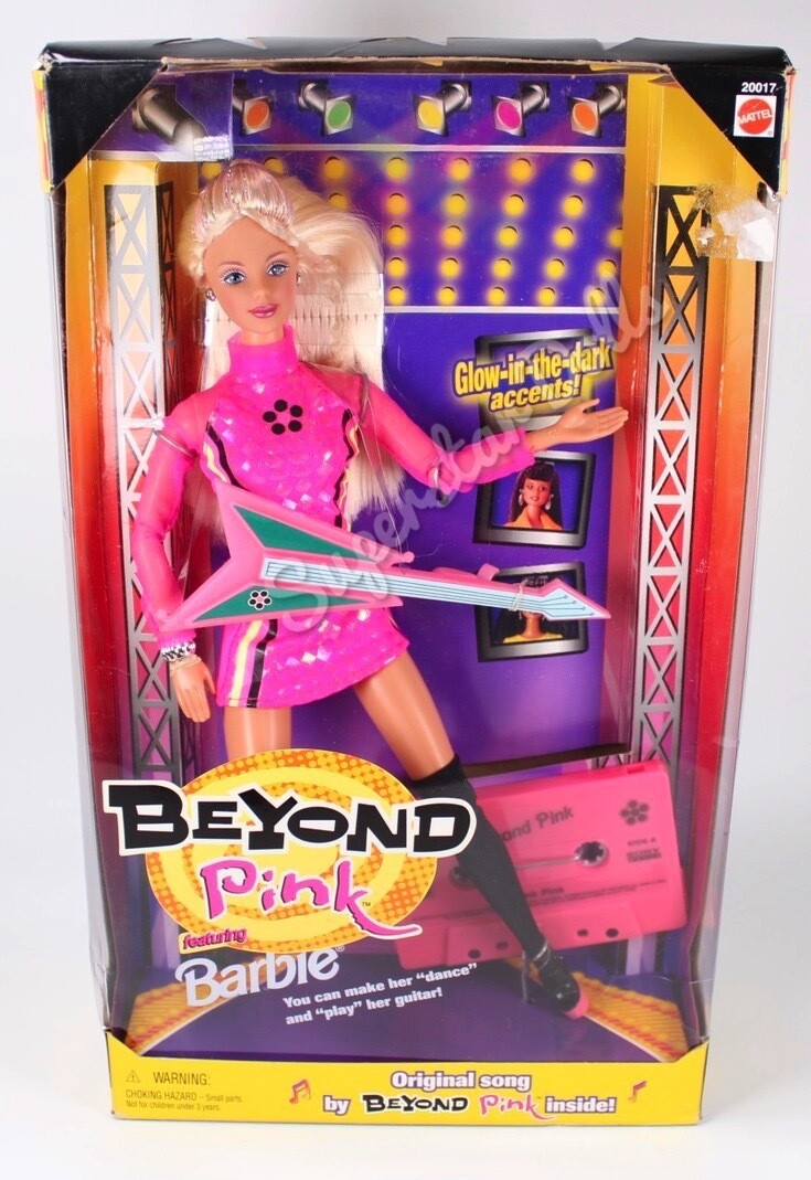 1998 Beyond Pink Featuring Barbie Doll