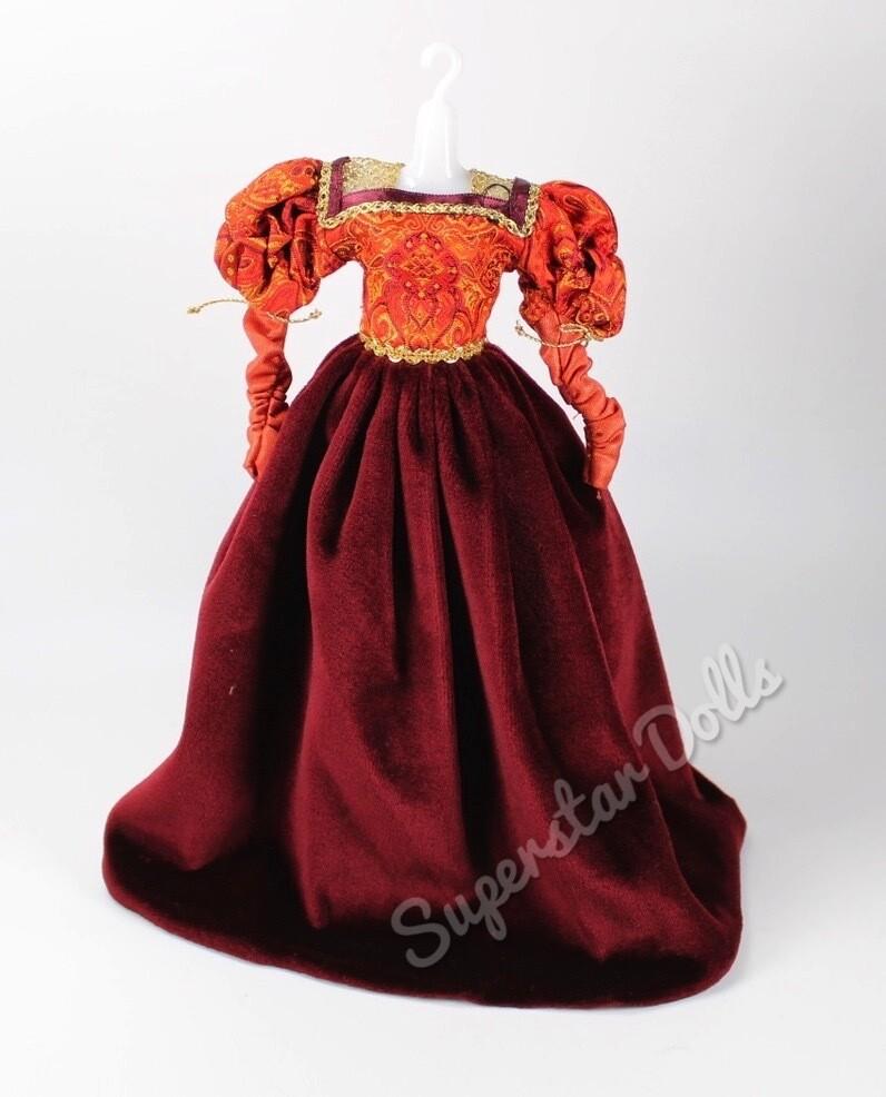2002 Princess of the Portuguese Empire Barbie Doll Fashion