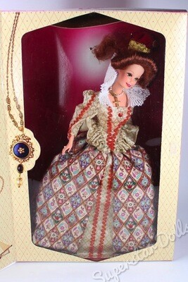 1994 Elizabethan Queen Barbie Doll from the Great Eras Collection