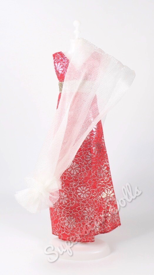 1977 Brocade Dream Steals the Scene Barbie Doll Fashion