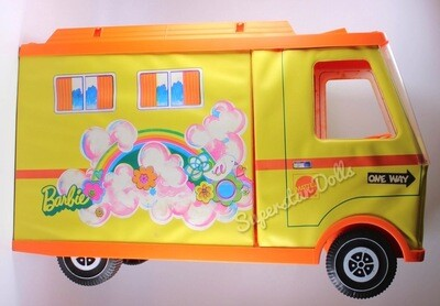 1970 Mod Era Barbie Doll Country Camper