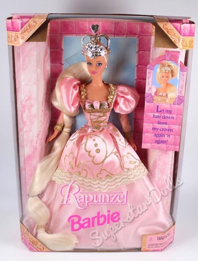 1998 Rapunzel Barbie Doll