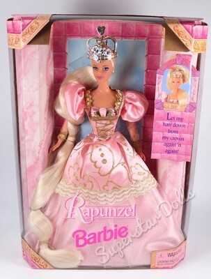 1998 Rapunzel Barbie Doll
