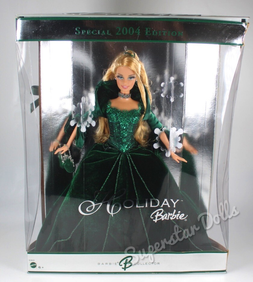 2004 Special Edition Holiday Barbie Doll