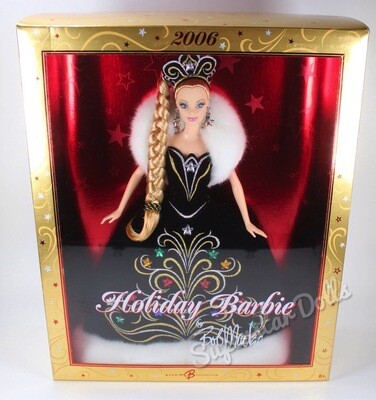 2006 Holiday Barbie Doll By Bob Mackie