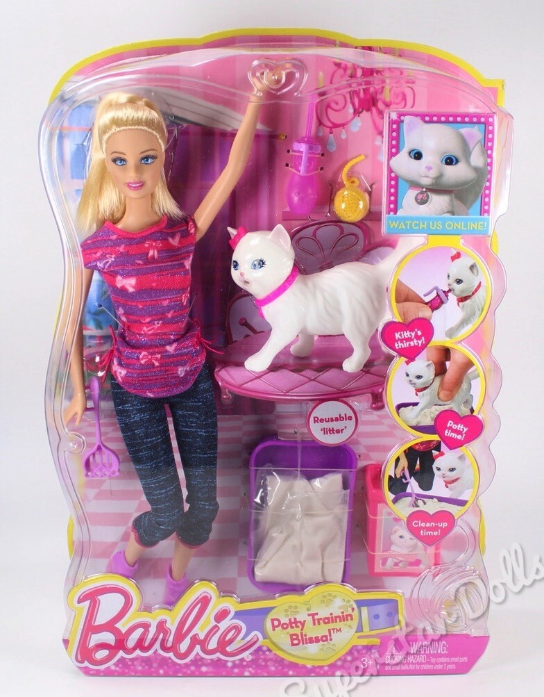 2013 Potty Trainin' Blissa Barbie Doll