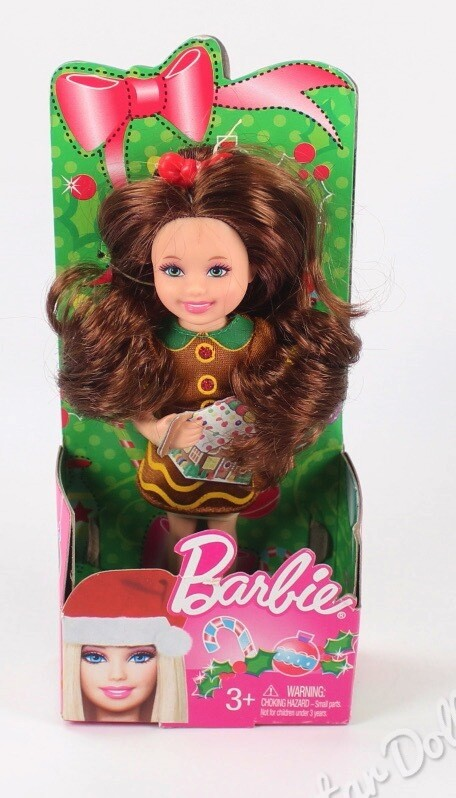 2012 Christmas Kelly Barbie, Doll